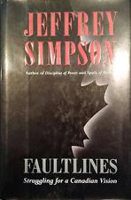 Jeffrey Simpson~FAULTLINES~SIGNED 1ST/DJ~NICE COPY