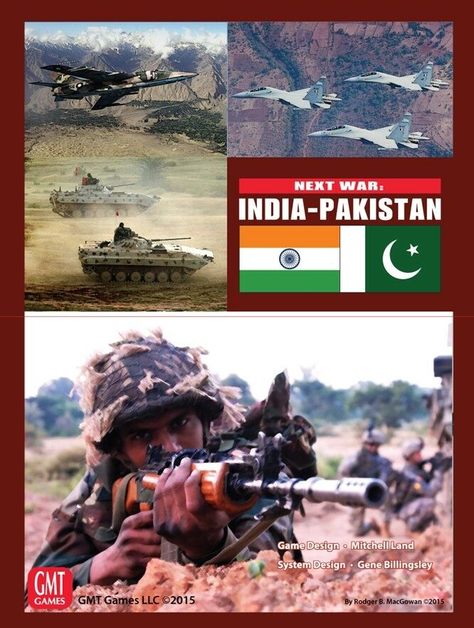 Next war  India-Pakistan, Wargames, NEW by GMT, English Edition