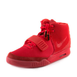 Nike-Mens-Air-Yeezy-2-SP-034-Red-October-034-Red-508214-660-Size-10-5
