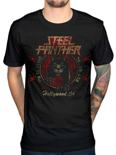 American rock band,T-shirt-SIZES S to 7XL STEEL PANTHER