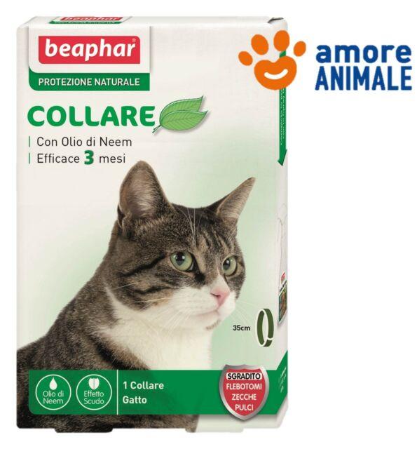 Beaphar Collare 35 cm Protezione Naturale - Antiparassitario per gatto