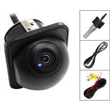 12V 170° Mini Color CCD Reverse Night Vision Backup Car Front Rear View Camera