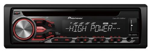 Pioneer deh-4800fd con High Power etapa final 4 x 100 vatios CD mp3 USB-autorradio