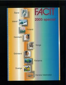 2005-FACIT-Special-Scandinavian-Postage-Stamp-Catalogue-Norway-Sweden-Denmark
