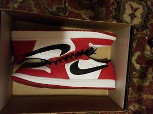 Details about Air Jordan 1 Retro Low OG Chicago size 13.5. Red White Black. 705329 600.