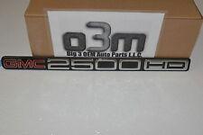 2001-2007 GMC Sierra 2500 HD Vehicle Nameplate Emblem Chrome new OEM 15114056