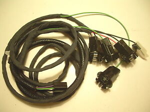 1962 62 chevy impala rear deck lid trunk wiring harness ebay rh ebay com