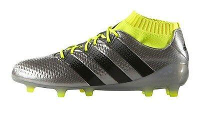 preferir Cúal Anónimo  Adidas Ace 16.1 Primeknit FG Soccer Cleats Men's US 7.5 Silver Yellow S76469  NEW | eBay