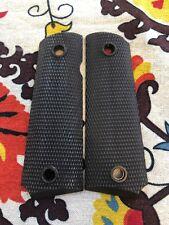 U.s.g.i. Brown Plastic Nylon Grips for The M 1911 A1 Pistol - UNISSUED USGI