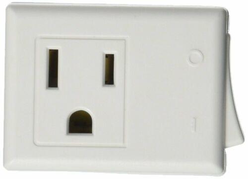 Adaptateur d/'alimentation Pack de 6 prises de courant à 3 broches Grounded port unique On Off Switch Bouton