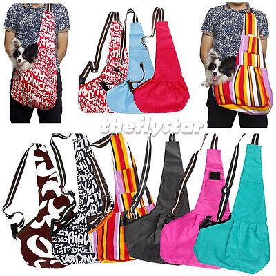 Oxford Cloth Sling Pet Dog Cat Carrier Tote Single Shoulder Bag Any Color &Size