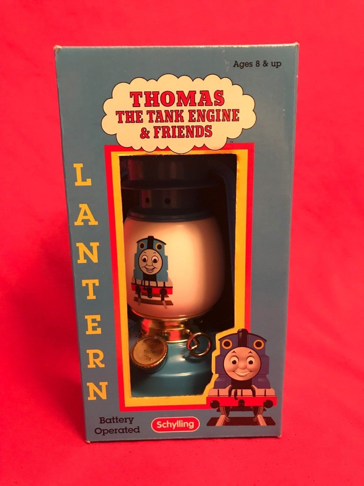 1999 Schylling Thomas The Tank Engine & Friends Metal Lantern In the Box