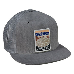Death Valley National Park Trucker Hat by LET S BE IRIE - Gray Denim ... f4c56e248f99