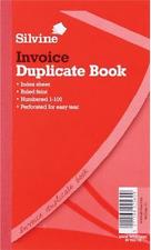 Silvine fatture duplicate BOOK NUMERATI 1-100