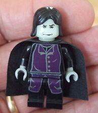 *LEGO HARRY POTTER MINIFIGURE: PROFESSOR SNAPE HP012 Year 1 (Glow in Dark)