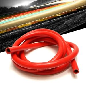 "1Feet HPS 1//4/"" 6mm High Temp Reinforce Silicone Heater Hose Tube Coolant Blue"
