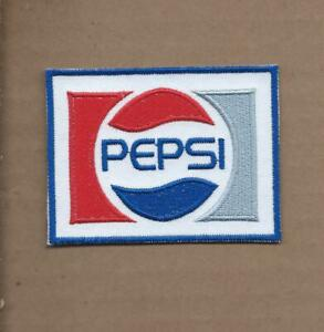 NEW 2 3/8 X 3 1/8 INCH PEPSI COLA IRON ON PATCH FREE SHIPPING