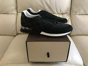 dc021731b8e9 Image is loading LOUIS-VUITTON-RUN-AWAY-SNEAKER-BLACK-MENS-TRAINERS-
