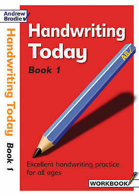 1 of 1 - Handwriting Today: Bk. 1 (Handwriting Today), Brodie, Andrew, Very Good Book