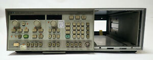 HP / AGILENT 8350B SWEEP OSCILLATOR MAINFRAME HIGH OUTPUT POWER 5 FREQ. MARKERS