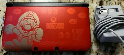 Nintendo 3ds Xl Limited Edition Handheld System New Super Mario
