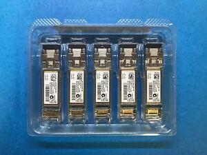 Lot-of-5-Cisco-DS-SFP-FC8G-SW-10-2418-02-SFP-Transceivers