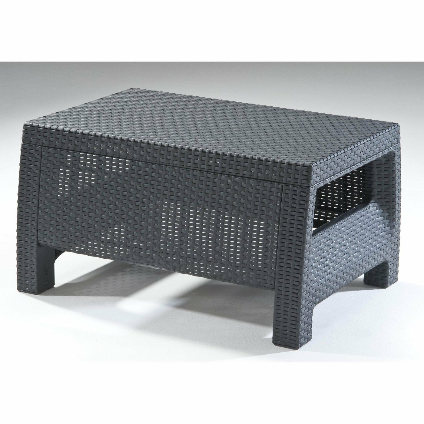 Bamboo Coffee Table Outdoor: Wicker Coffee Table Outdoor Patio Rattan Side End Deck