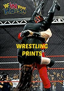 #705 MAKE YOUR SELECTION WWF WWE KANE UNDERTAKER RETRO ELITE A4 A3 A2 A1 POSTER