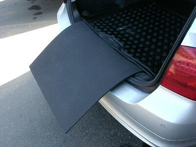 Saab 9-5 estate 1997 - 2009 car bumper protector add on for our boot mat liner