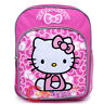 """Sanrio Hello Kitty Small School Backpack 10"""" Toddler Bag Bow  Pink"""