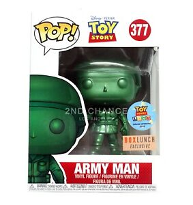 New Funko Pop Pixar Toy Story Army Man 377 Boxlunch Exclusive Vinyl Figure