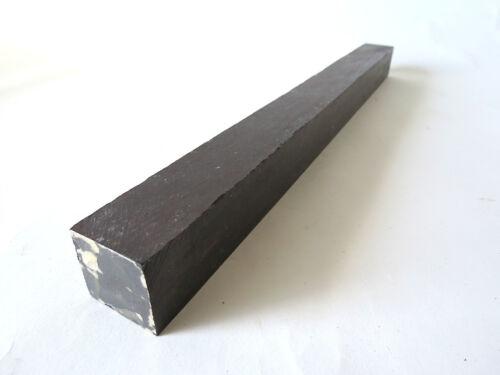 """African Blackwood Turning Square Lathe Blank Exotic Wood 1-1//8 x 1-1//8 x 18-1//2/"""""""
