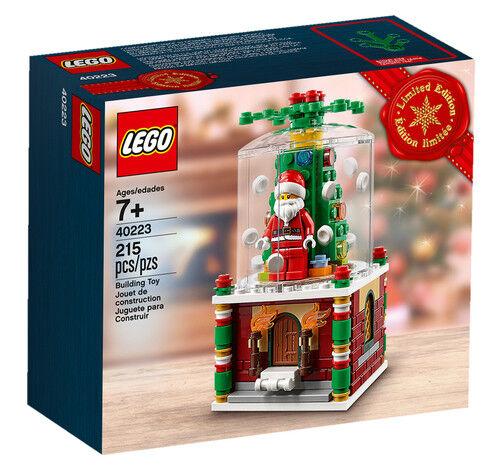 Lego 40223 Limited Edition 2016 Christmas Santa Snow Globe BNSB