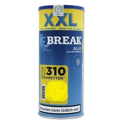 6 X Break Blue Volumen Tabak á 150 Gramm Zigarettentabak / Tabak