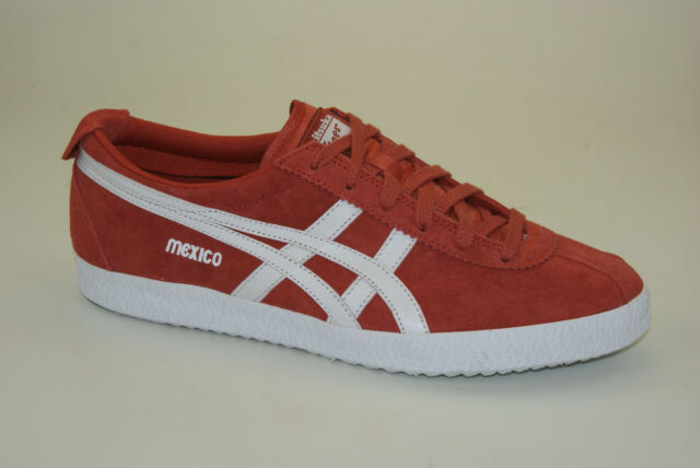 check out 1b190 9ab6d Onitsuka Tiger Asics Mexico Delegation Shoes Men's Leather SNEAKERS 66 UK 9  - EU 44