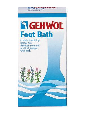 Gehwol Foot Bath With balsamic herbal oils Alleviates revitalises aching feet