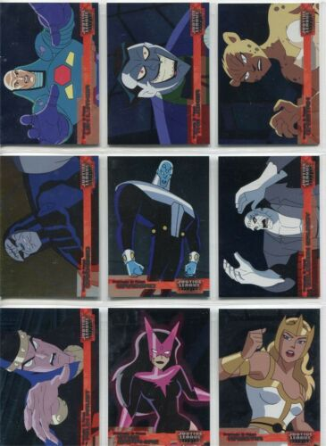 Justice League FRIENDS /& FOES FF1 TO FF18 OR SET OF 18 BY  INKWORKS CHOOSE