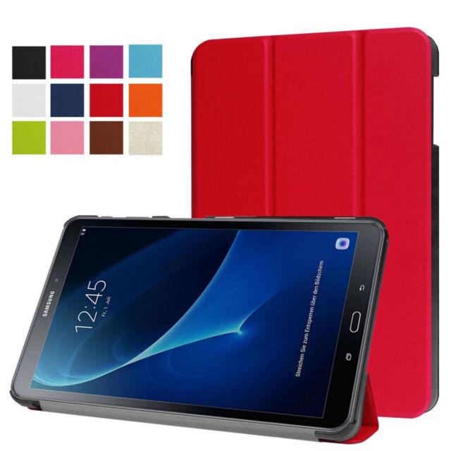 Housse pour Samsung Galaxy Tab A 10.1 Sm T580 T585 Étui Smart Cover