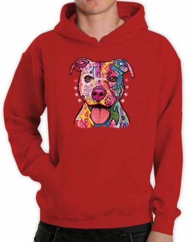 Rainbow Dog Hoodie Cool Colorful Trendy Holiday Birthday Gift Idea Pullover Top