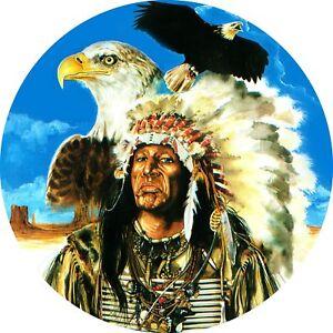 4x4-Spare-Wheel-Cover-4-x-4-Camper-Graphic-Vinyl-Sticker-Indians-IN-1