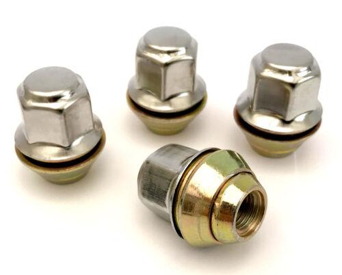 """taper seat x 4 wheel nuts fits classic mini wheels 3//8/"""" UNF thread 17mm Hex"""