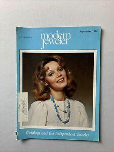 Vintage Modern Jeweler Magazine September 1975 - Jewelry, Watches Gems Diamonds