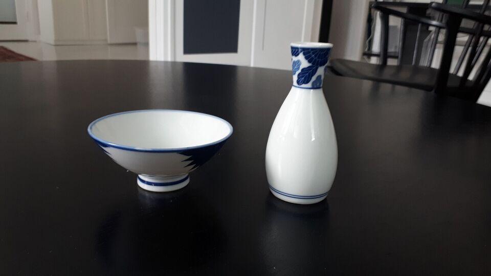 Porcelæn, Lille vase og lille skål
