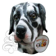 Latex Full Head Animal Dalmatian Dog High Quality Fancy Up Dress Carnival Mask
