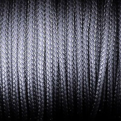 knot*knot Paracord Garn für Paracord-Technik - Ø 3 mm - dunkelgrau - 4 Meter