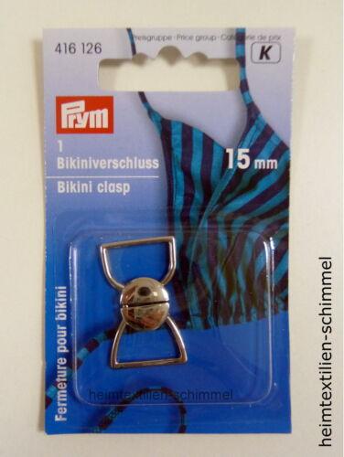 PRYM Bikiniverschluß Bikini Verschluß Metall 416126