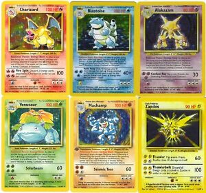 photo about Pokemon Card Printable named Info in excess of Uncommon Holo (vibrant) foundation fastened pokemon playing cards All 16 Readily available Out of print!