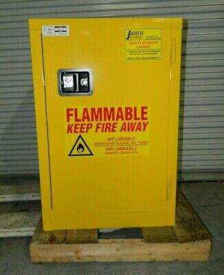 Jamco 1 Door 1 Shelf Cabinet for Flammable/Combustible ...
