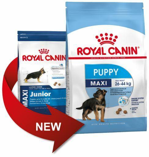 15kg Royal Canin Maxi Puppy ex Junior