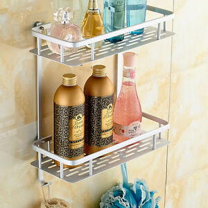Exceptionnel No Drilling Bathroom Shelf Shower Caddy Shelf Rack